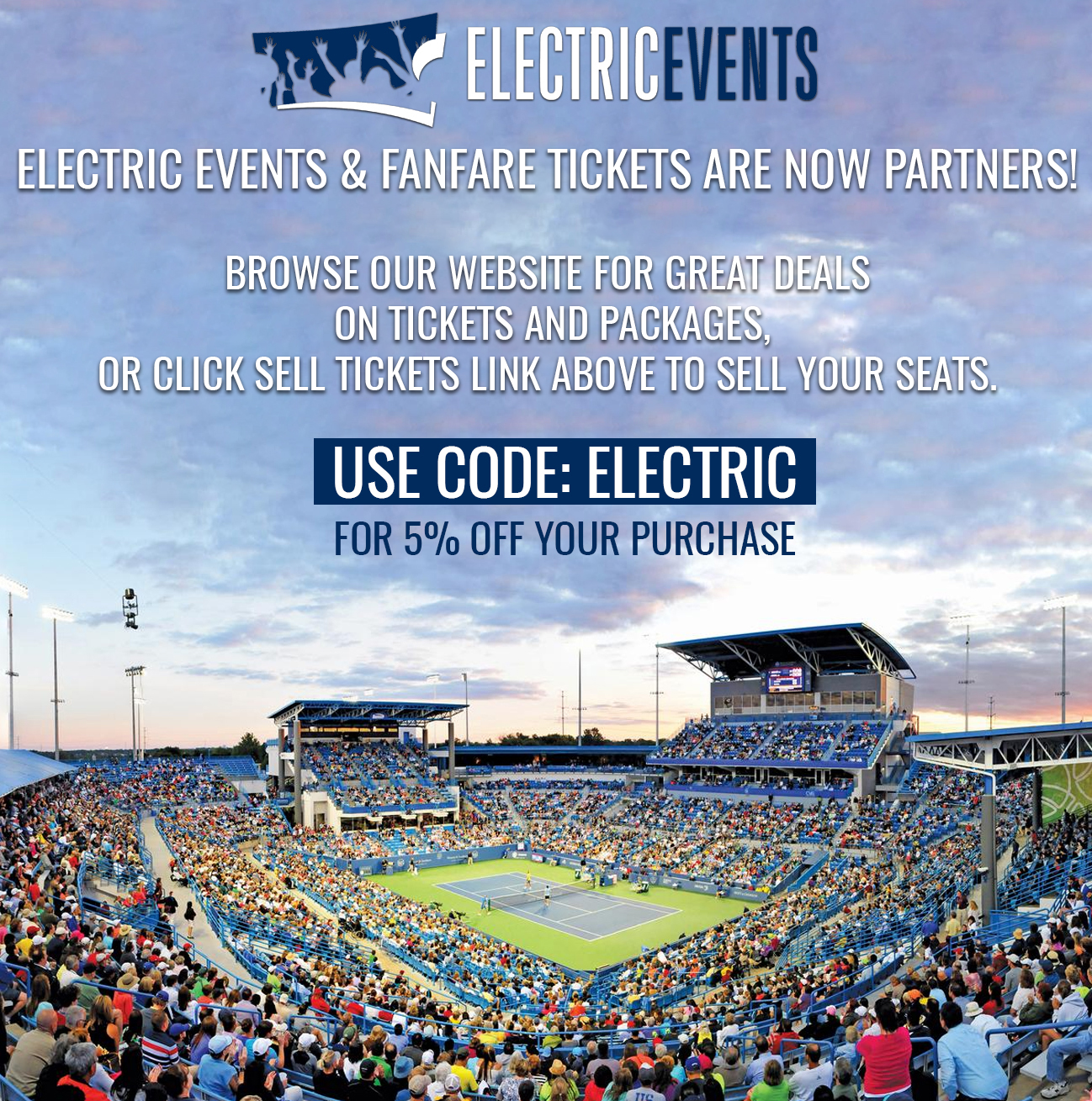 Electric Event Tickets